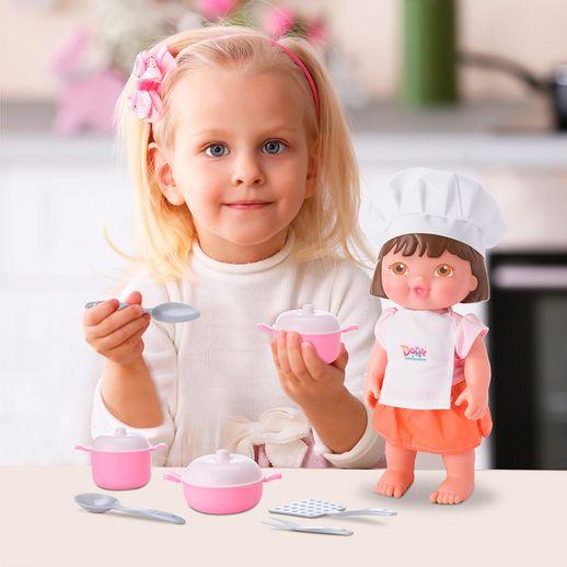 Boneca-Dora-Mini-Chef---Bambola