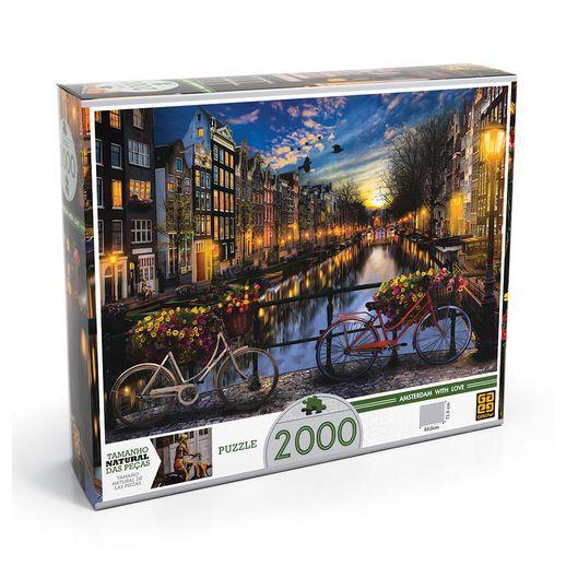 Quebra-Cabeca-Verao-em-Amsterda-2000-Pecas---Grow