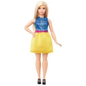 Barbie-Fashionista-Saia-Amarelo---Mattel