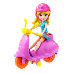 Boneca-Polly-com-Scooter---Mattel