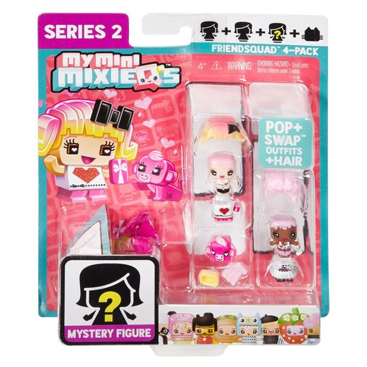 MixieQ-s-4-Pacotes-FDF49---Mattel-