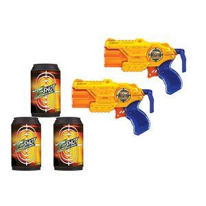 Lancador-X-Shot-Micro-X3-Com-Latas---Candide