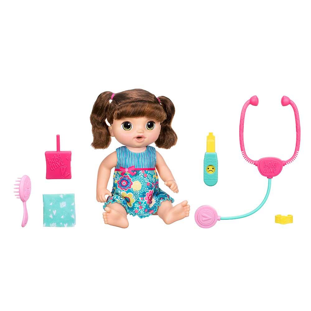 1f8f5f9347 Baby Alive Doces Lágrimas Morena - Hasbro