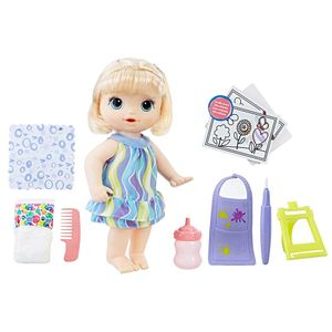 Baby-Alive-Pequena-Artista-Loira---Hasbro