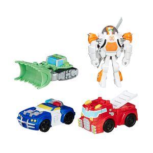 Figura-Transformers-Rescue-Bots-Pack-Com-4---Hasbro