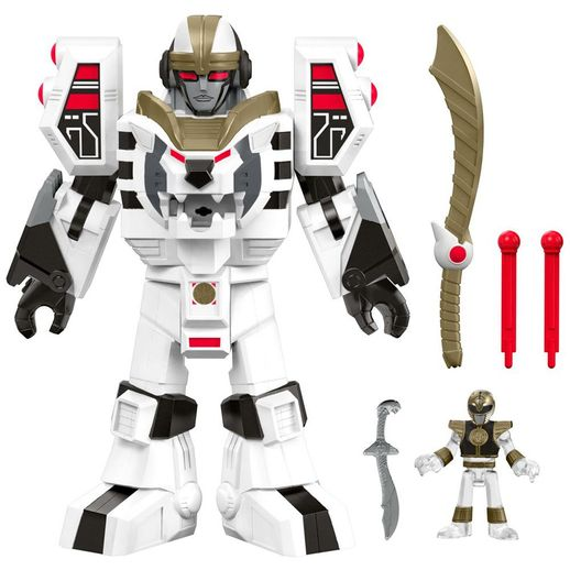 Imaginext-Power-Rangers-Branco-e-Tigerzord-Guerreiro---Mattel