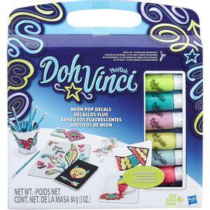Conjunto-Doh-Vinci-Adesivos-de-Neon---Hasbro