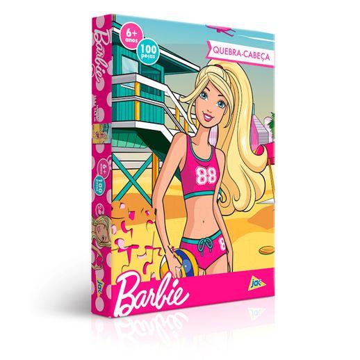 Quebra-Cabeca-Barbie-Biquini-100-Pecas---Toyster