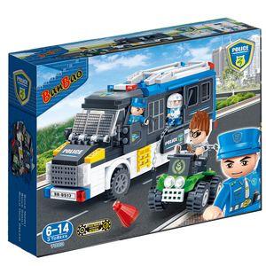 Policia-Van-Polcial-325-Pecas---Banbao