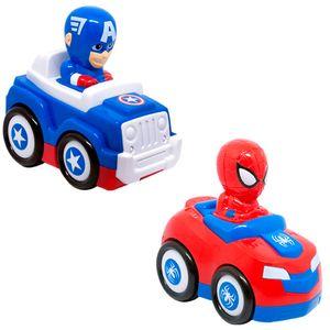 Carro-Sortido-Top-Racer-Capitao-America-e-Spider-Man---Candide