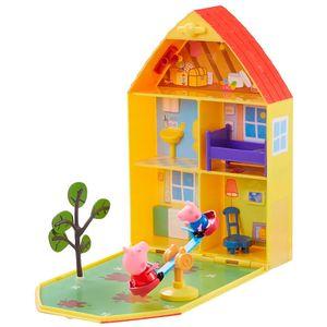 Peppa-Pig-Casa-com-Jardim---DTC
