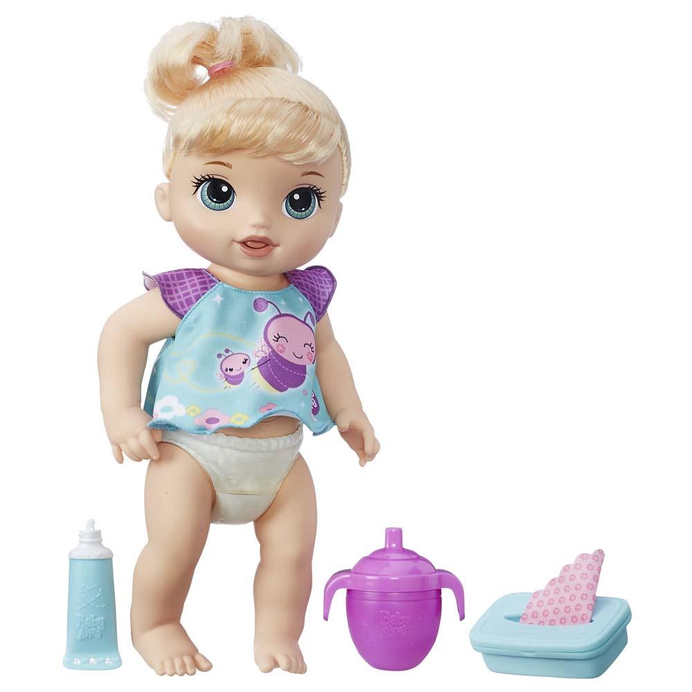 12c8e4725f Baby Alive Loira Fralda Mágica - Hasbro