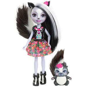 Enchantimals-Boneca-e-Bichinho-Sage-Skunk---Mattel