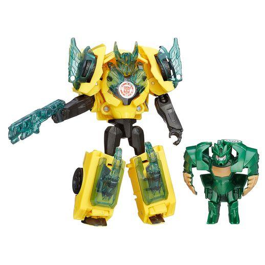 Transformers-Bumblebee-vs-Major-Mayhem---Hasbro