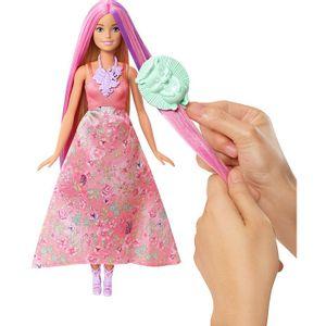 BarbieFantasiaPrincesaCabelosColoridosMattel