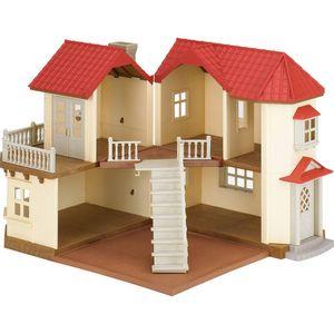 Sylvanian-Families-Casa-da-Cidade-com-Luzes---Epoch-Magia