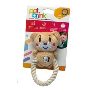 Corda-Com-Urso-de-Pelucia---Pet-Brink