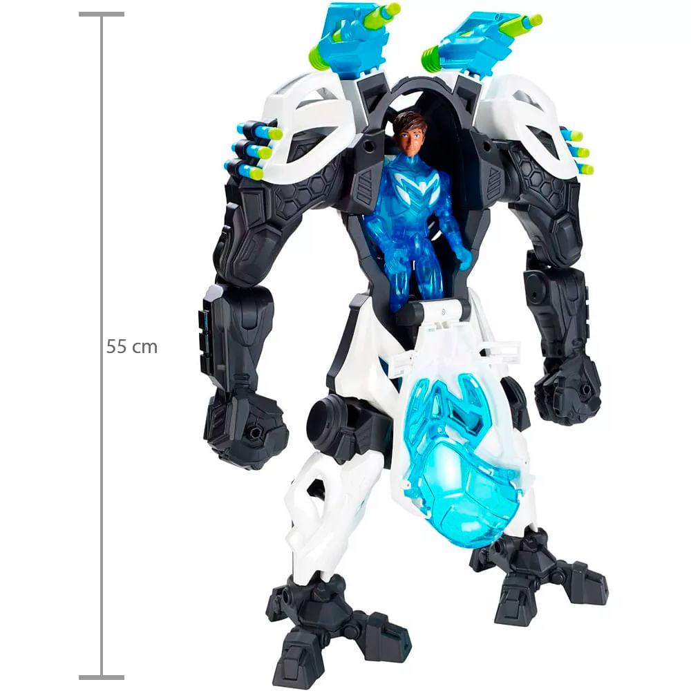 2c3a6b1f83 Max Steel Armadura Gigante - Mattel