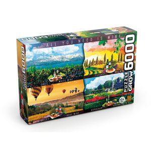 Puzzle-6000-Pecas-Vinhos-do-Mundo---Grow