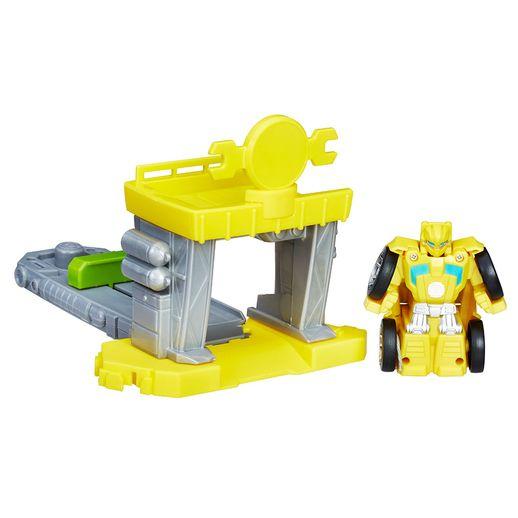 Lancador-Transformers-Flip-Racers-Amarelo---HasbroLancador-Transformers-Flip-Racers-Amarelo---Hasbro