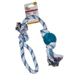 Knot-Color-Bola-Azul---Pet-Brink