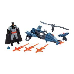Liga-Da-Justica-Batman-15cm-com-Veiculo---Mattel