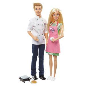 Barbie-Cozinhando-e-Criando-Barbie-e-Ken---Mattel