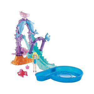Polly-Pocket-Parque-Aquatico-Golfinho---Mattel