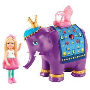 Boneca-Barbie-Chelsea-e-o-Rei-Elefante---Mattel