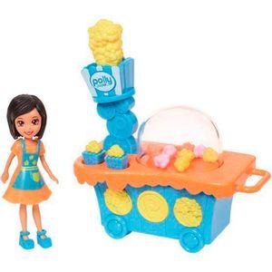 Polly-Pocket-Conjunto-Carrinho-de-Pipoca-Crissy---Mattel