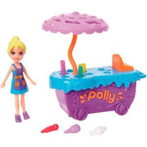 Polly-Pocket-Conjunto-Carrinho-Divertido-de-Sorvete---Mattel