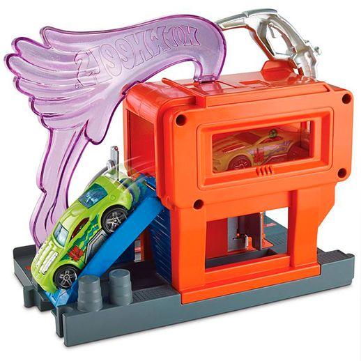 Hot-Wheels-Conjunto-Basico-Posto-de-Gasolina---Mattel