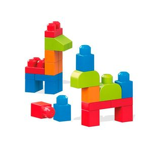 Mega-Blocks-First-Builders-Sacola-40-Pcs---Mattel