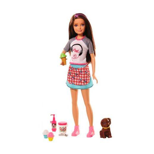 Barbie-Cozinhando-e-Criando-Sorvete---Mattel