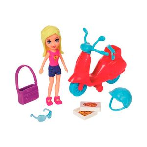Polly-Pocket-Conjunto-Scooter-Lila---Mattel
