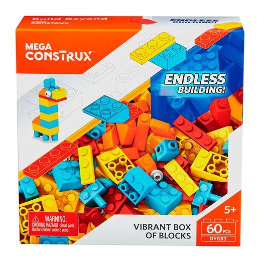 Mega-Bloks-Blocos-Pequenos-Vibrantes---Mattel