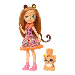 Enchantimals-Boneca-e-Bichinho-Cherish-Cheeta---Mattel