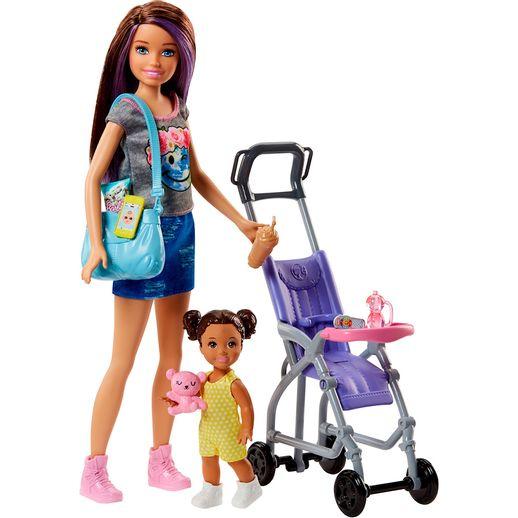 Conjunto-Barbie-Baba-Carro-de-Bebe---Mattel