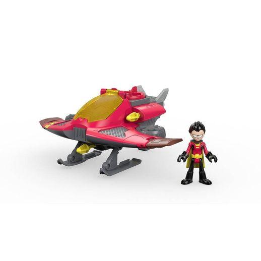 Imaginext-Basico-Jovens-Titas-Robin---Mattel