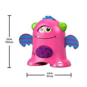 Fisher-Price-Monstro-Animado-Rosa---Mattel
