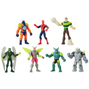 Conjunto-Boneco-Homem-Aranha-com-Personagens---Hasbro