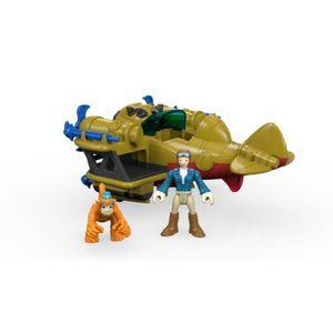 Imaginext-Veiculos-Aventura-Aviao-Explorador---Mattel