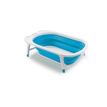 Roblox Banheira De Slime - Banheira Dobrável Flexi Bath Azul Multikids Baby