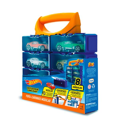 Hot-Wheels-Porta-Carrinhos-Modular-com-8-Divisoes---Fun-Divirta-se