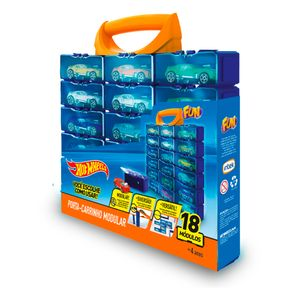 Hot-Wheels-Porta-Carrinhos-Modular-com-18-Divisoes---Fun-Divirta-se