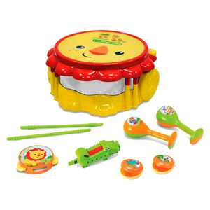 Fisher-Price-Kit-Bandinha-Musical-Leao---Fun-Divirta-se