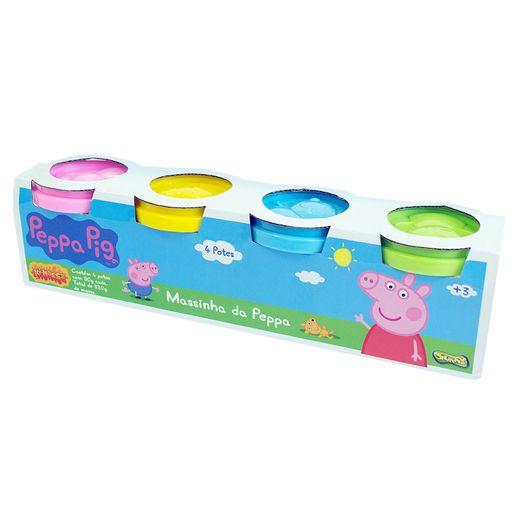 Massinha-Peppa-Pig-com-4-Potes---Sunny