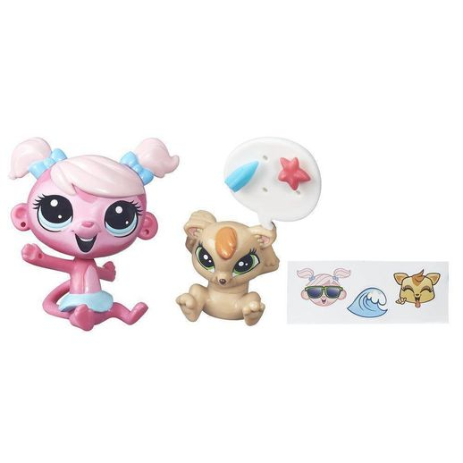 Littlest-Pet-Shop-Minka-Mark-Larisa-Mcchortle---Hasbro