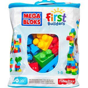 Mega-Bloks-First-Builders-Sacola-60-Pecas---Mattel