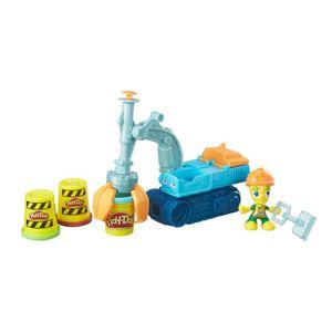 Conjunto-Play-Doh-Town-Escavadora---Hasbro
